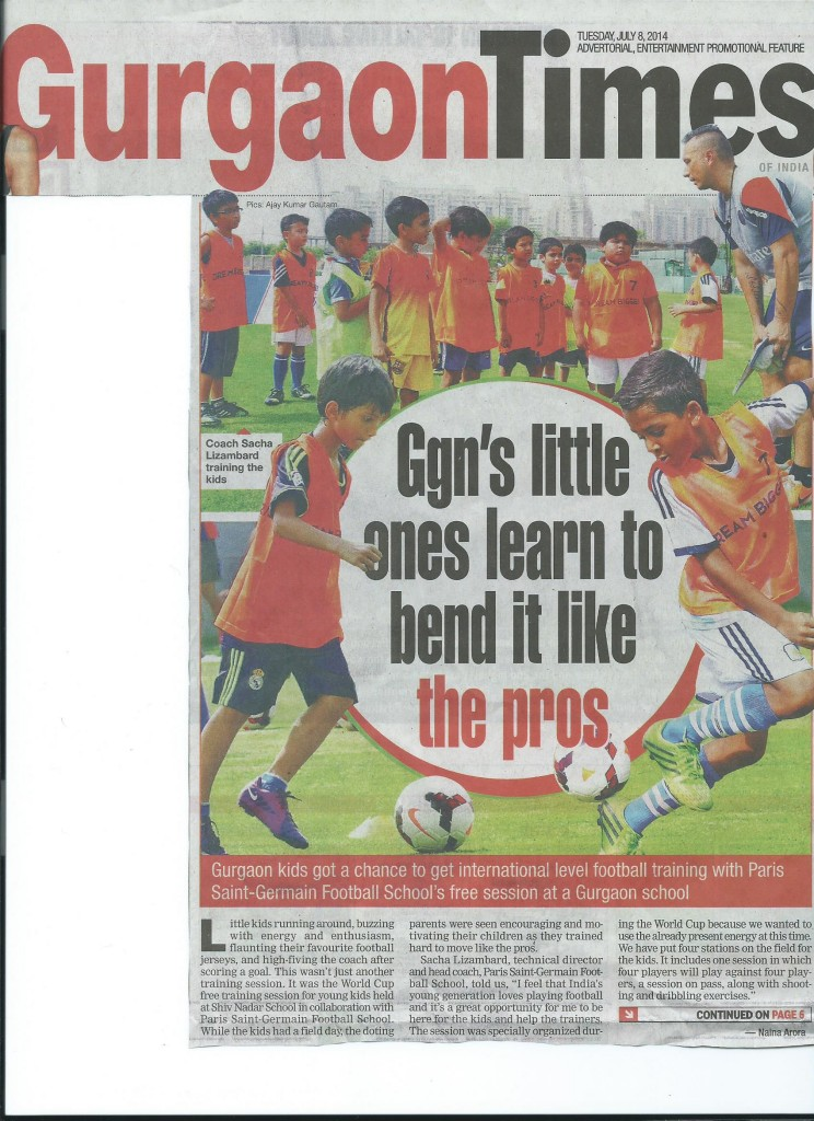 Gurgaon Times- 8 July - Page 1